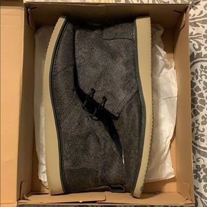 Grey TOMS Men's Boots